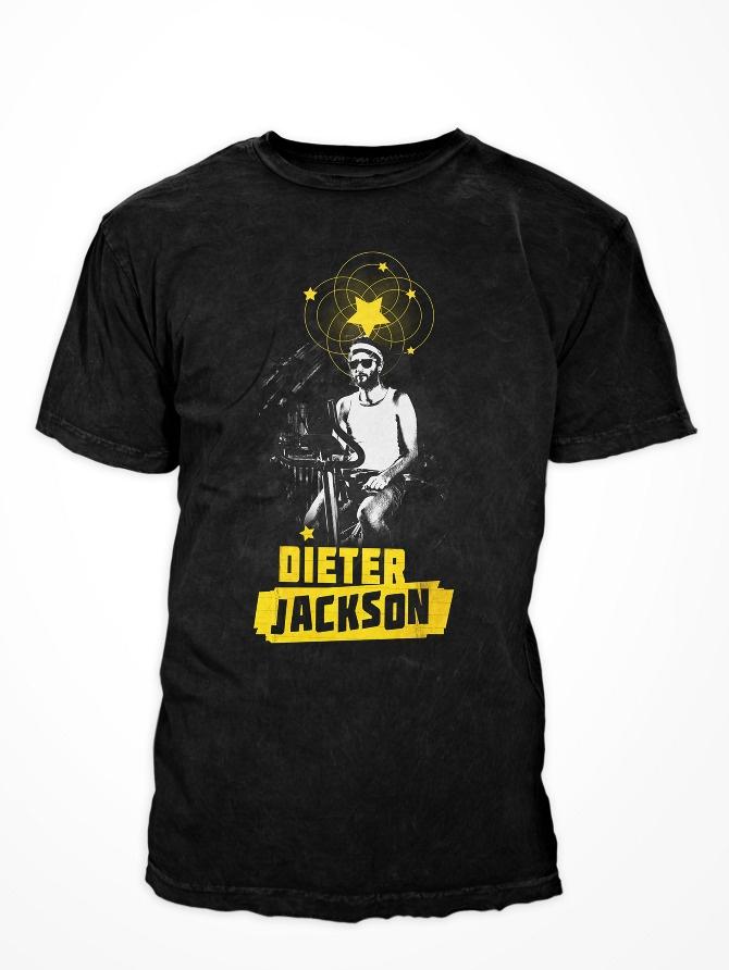 DIETER JACKSON Band-Shirt - DAN O SAUR
