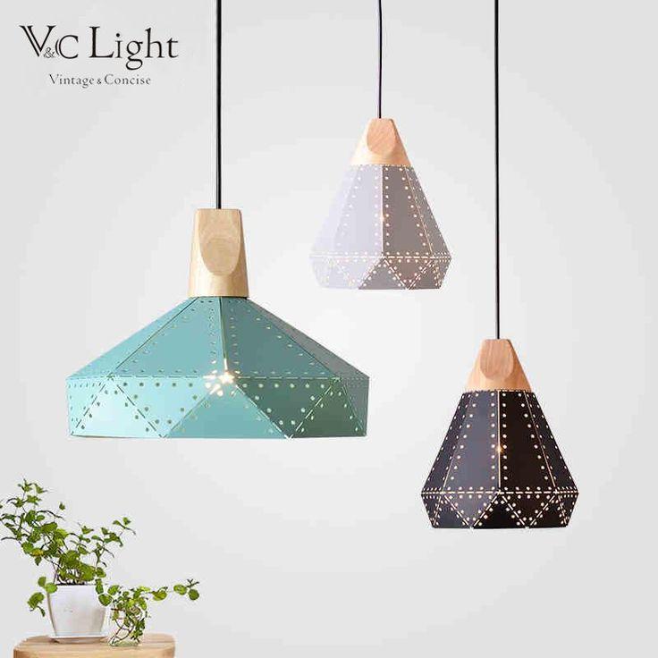 Modern fold style pendant lights 48 99 usd