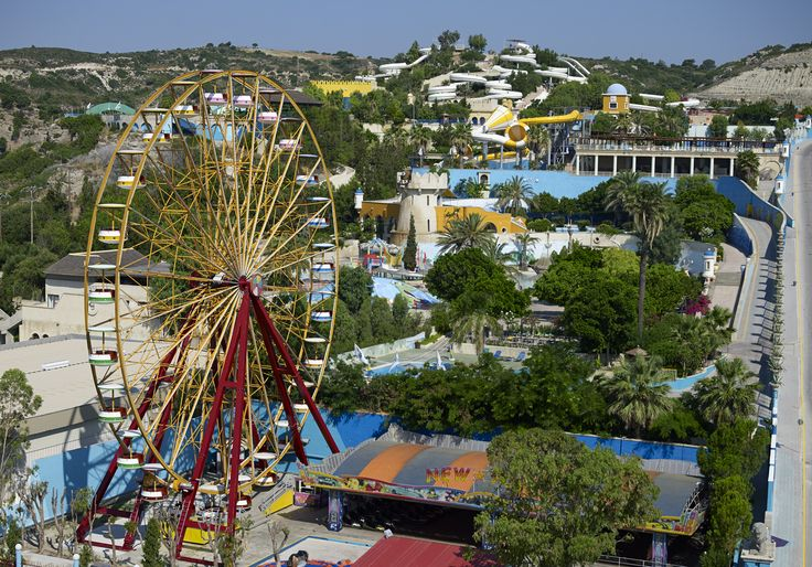 Water Park Rhodes & the Magic Castle Luna Park!