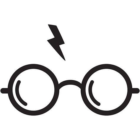 Harry Potter Glasses Laptop Car Truck Vinyl Decal Window Sticker PV458