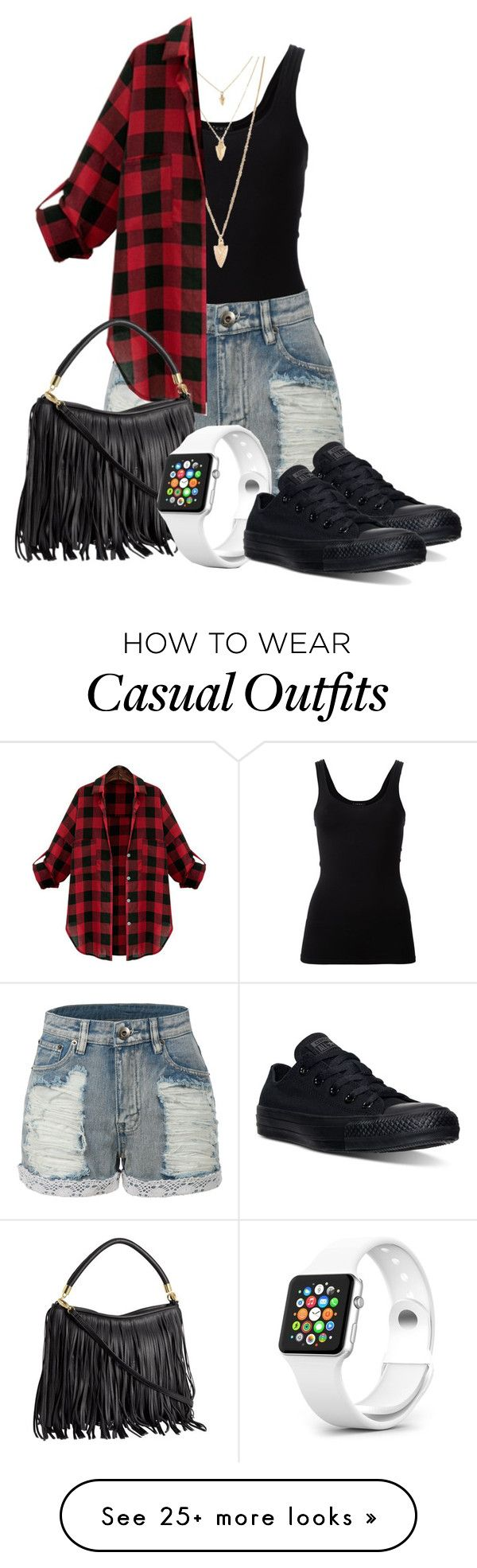 """""""Clara Clarke: 2015"""" by grandmasfood on Polyvore featuring Theory, LE3NO, Forever 21, WithChic, Converse, women's clothing, women, female, woman and misses"""