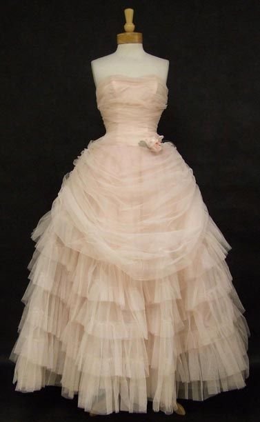 1950's ball gown