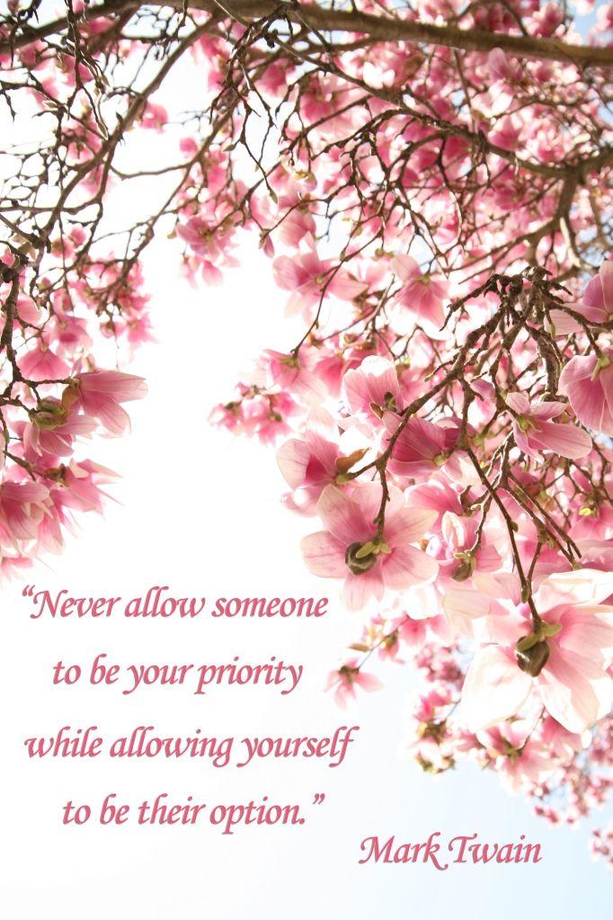 Mark Twain quote Self esteem