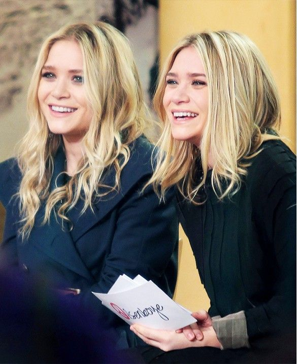 13+Times+the+Olsen+Twins+Warmed+Our+Hearts+With+Silly+Grins+via+@WhoWhatWear