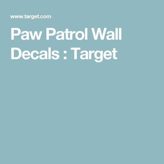 Best  Paw Patrol Wall Decals Ideas On Pinterest Paw Patrol - Superhero wall decals target