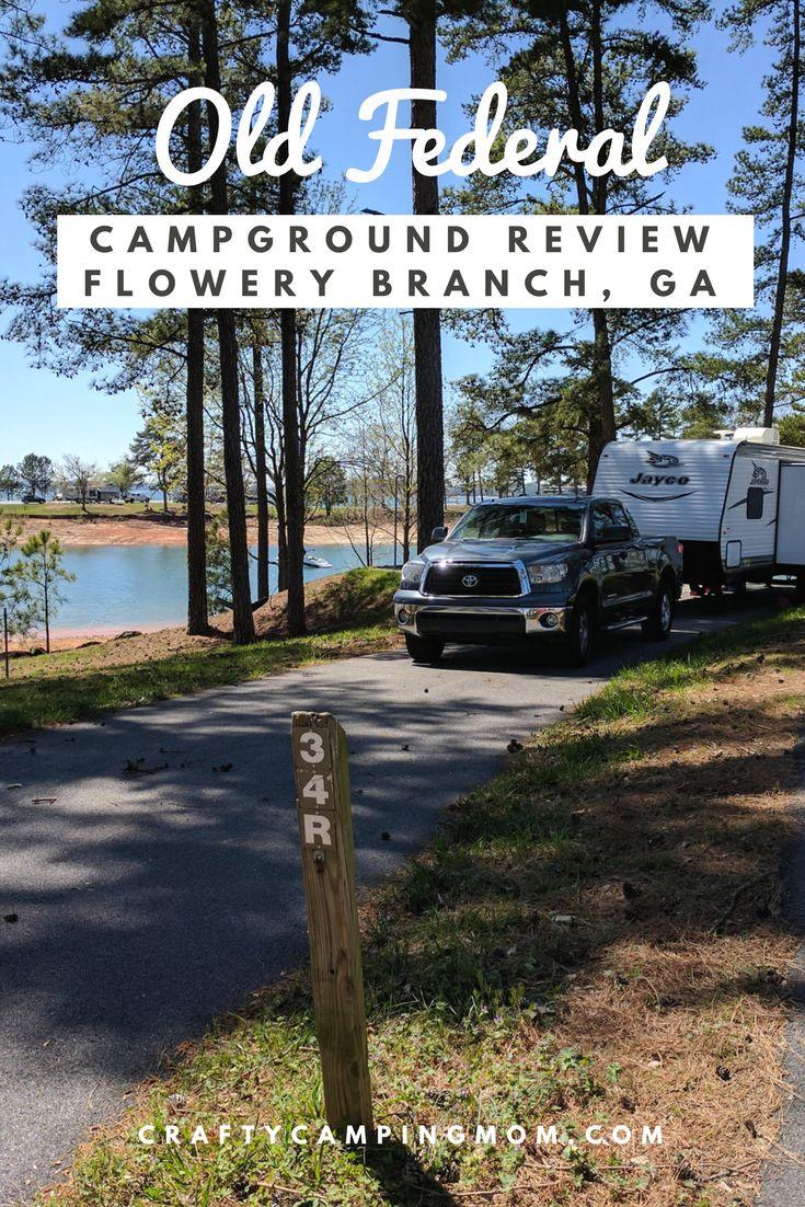 Camping at Old Federal Campground - Lake Sidney Lanier, GA ...