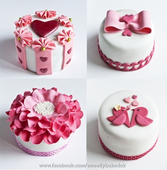 mini cakes - For all your cake decorating supplies, please visit craftcompany.co.uk