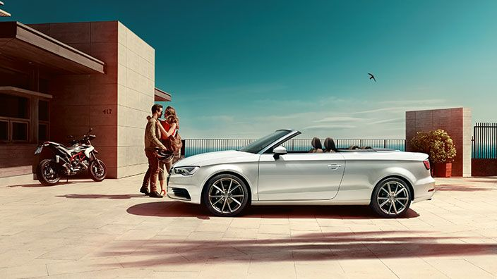 The new Audi A3 Cabriolet, find out more at www.audi.be