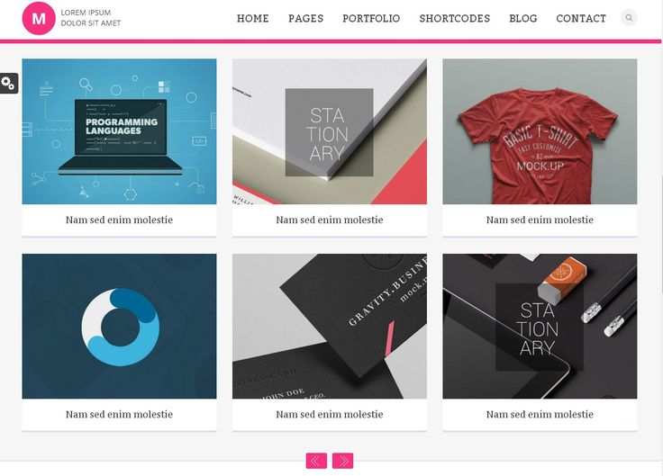 Free Download : Bootstrap HTML5 Portfolio Template