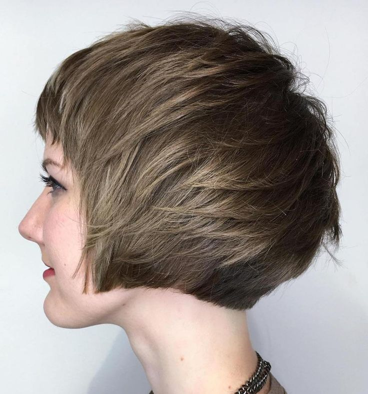 Pageboy Haircut with Layers