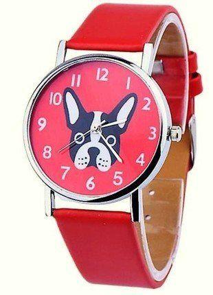 Kup mój przedmiot na #vintedpl http://www.vinted.pl/akcesoria/bizuteria/15990585-zegarek-z-motywem-buldoga-francuskiego