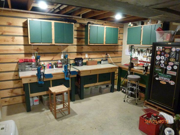 92 best images about reloading on pinterest reloading for Garage workshop pictures