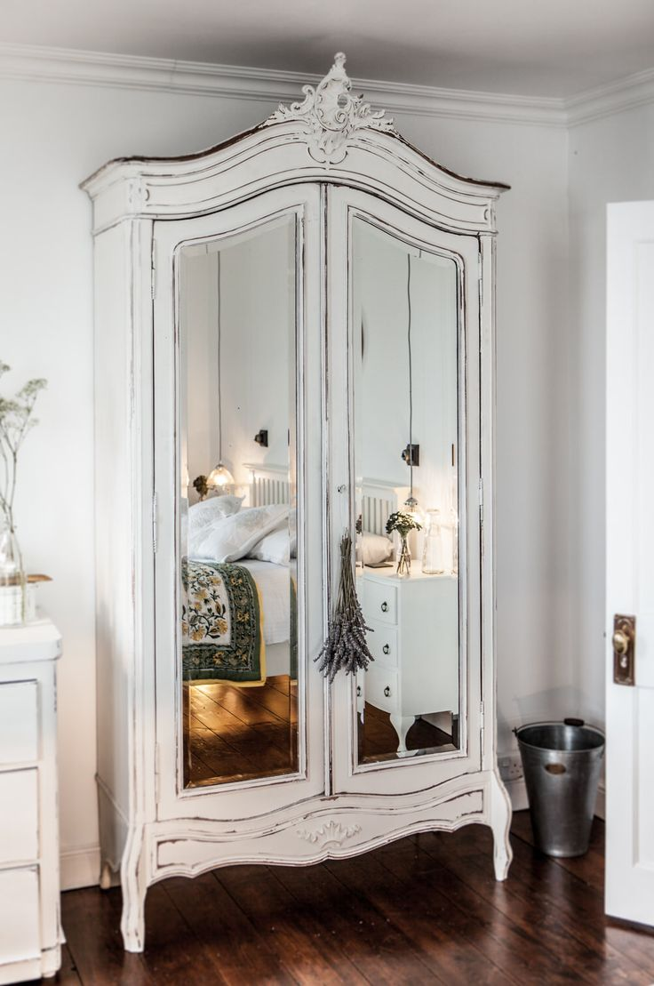 Distressed Armoire | The Cuttlefish | Luxury Self Catering Holiday Cottage Positioned In The Desirable Cornish Fishing Village Of Mousehole | http://rockmystyle.co.uk/camillas-luxury-cottage/