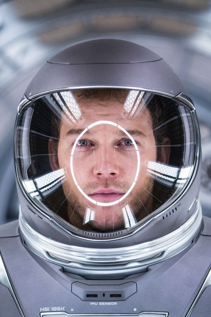 Chris Pratt in Passengers (2016).