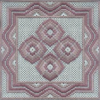four-way bargello needlepoint