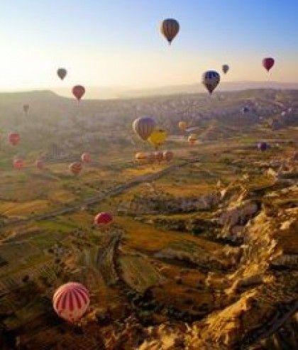 Ride in a hot air balloon   Theitchlist.com