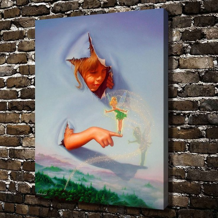 ==> [Free Shipping] Buy Best A1117 Jim warren Illustration Art heaven and hell.HD Canvas Print Home decoration Living Room bedroom Wall pictures Art painting Online with LOWEST Price | 32638672911