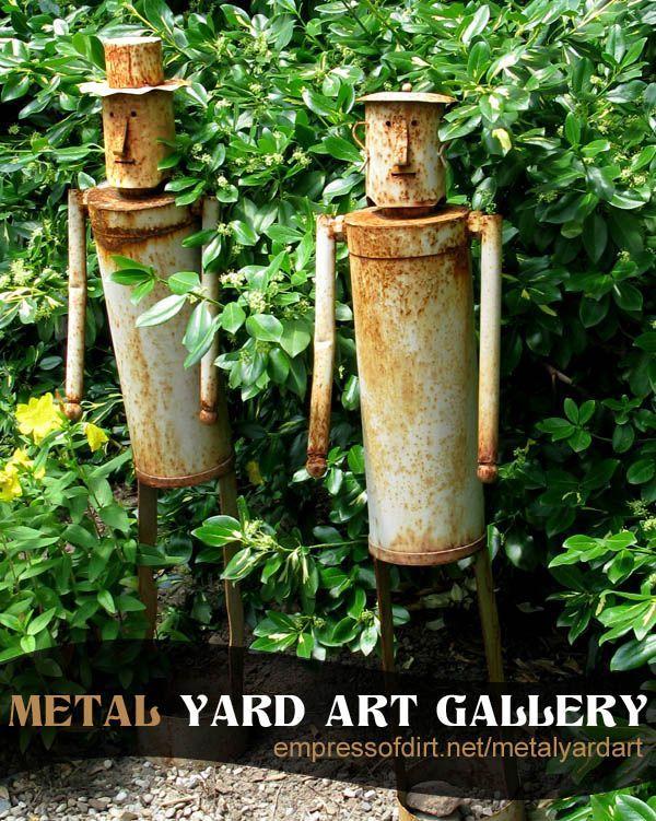 Metal Yard Art Gallery at empressofdirt.net/metalyardart