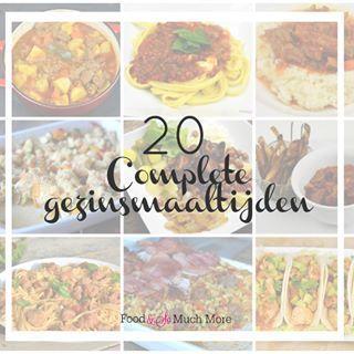 In de categorie: Handig!! Heb ik 20 complete gezinsmaaltijden op een rij gezet. Gewoon voor als je het even niet meer weet. Link in de bio! #family #gezin #maaltijden #recepten #food #foodblog #foodie #foodensomuchmore #dutchblogger #handig