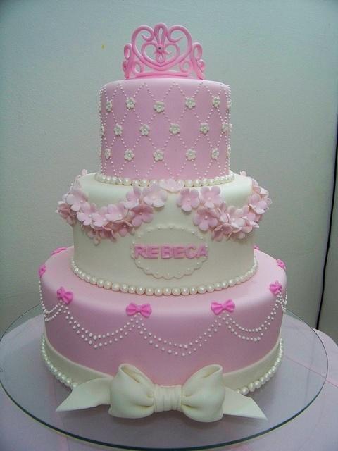 beautiful princess cake