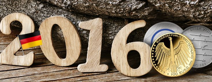 Deutschlands Gedenkmünzen 2016, Themen, Motive, Ausgabetermine – Prägeprogramm 2016 BRD Gedenkmünzen