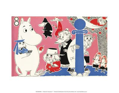 Moomin Print by Tove Jansson | on StarEditions.com - Wholesale Prints and Gifts
