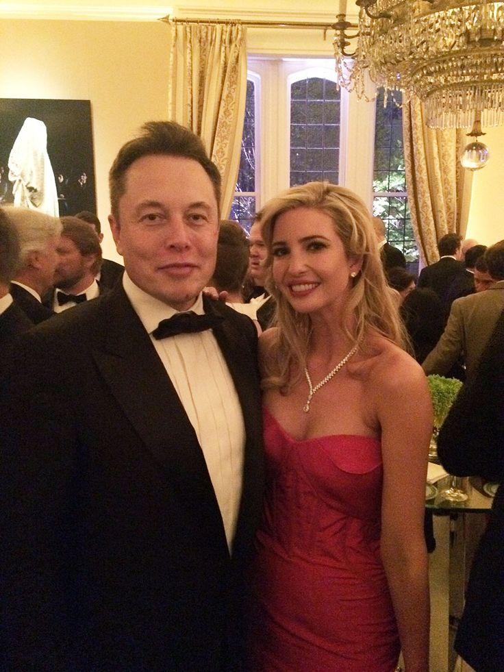 Ivanka Trump and Elon Musk