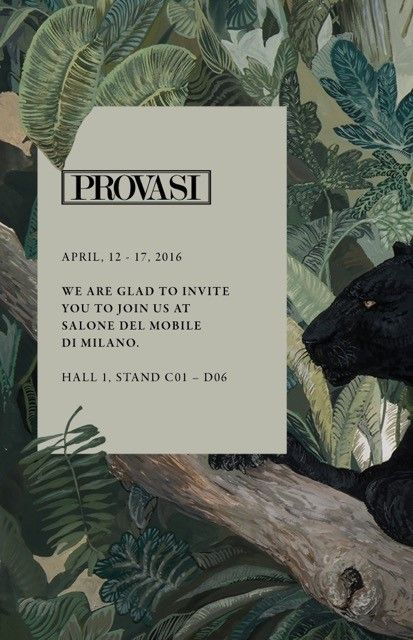 Provasi At Salone Del Mobile 2016, Milan. April 12   17 Hall 01 /