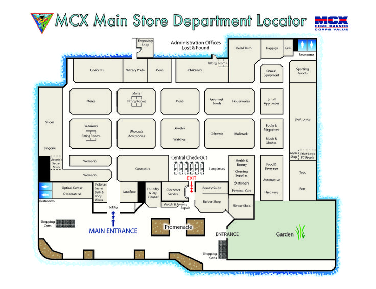 Department Store Layout Design