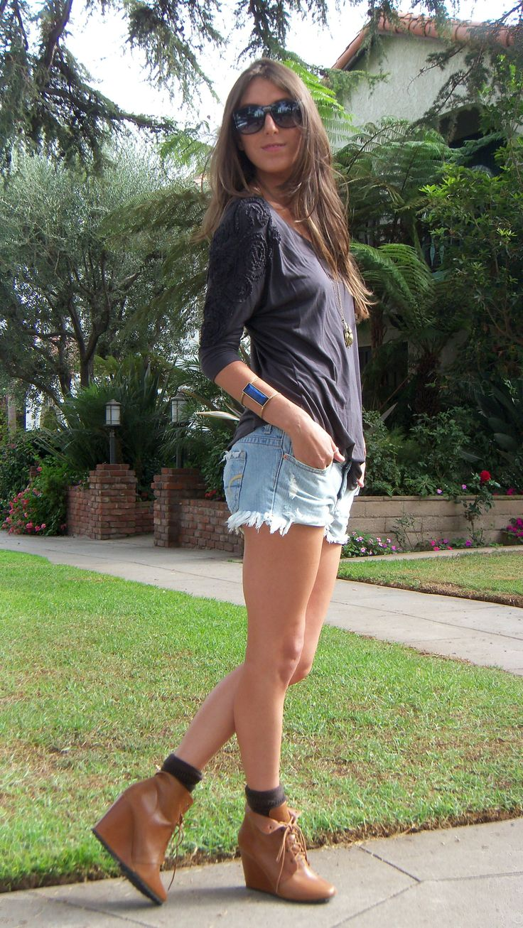 summer boots and shorts - Google Search   Spring Boots and ...