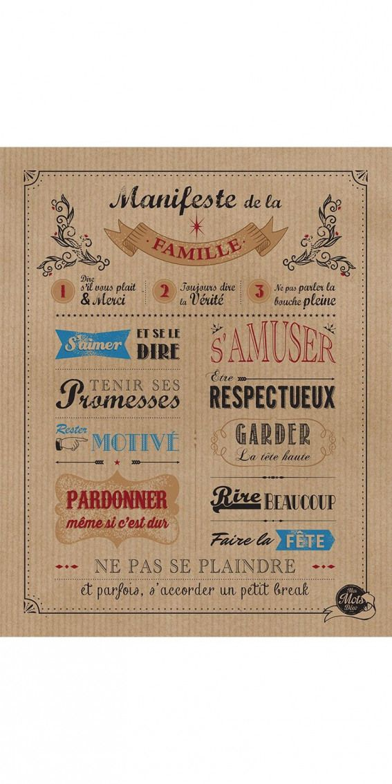 Manifeste De La Famille Kraft 4050 Cm Familyquotes Family Quotes With Images Messages Family Together Quotes Family Quotes