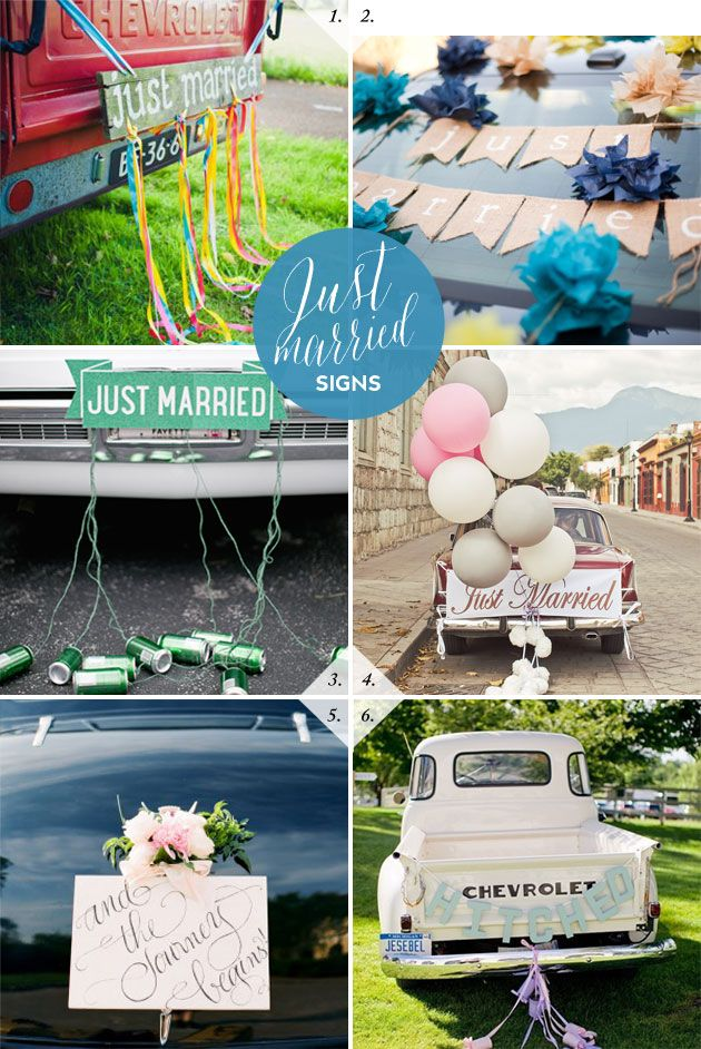 Wedding Car Decorations | Best Day Ever
