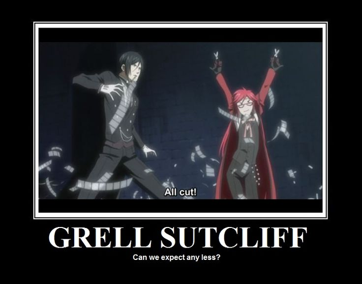 The Fabulous Grell Sutcliff by RightgeousRory.deviantart.com on @deviantART