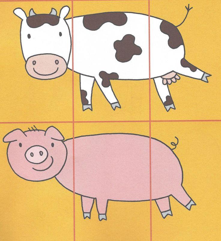 3- delige puzzels uit dopido. (Delphine Wieme)