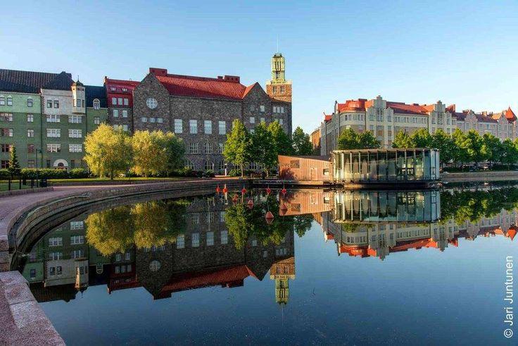 Hakaniemenranta, Helsinki, Finland, june 2016. Photo by Jari Juntunen.