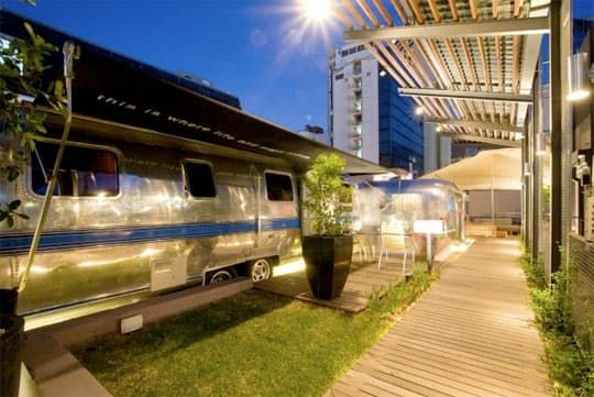 Grand Daddy Hotel's Airstream Penthouse Park