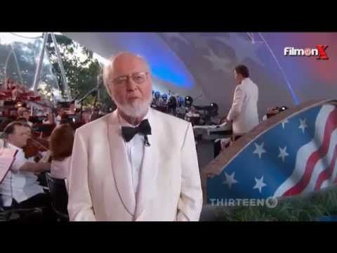 "John Williams conducts new arrangement of ""The Star-Spangled Banner"" - YouTube"