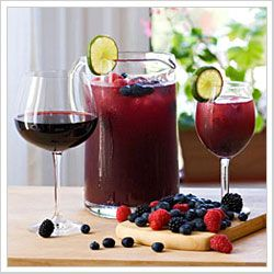 Bacca Sangria, love me some sangria's, will be fixing these for x-mas eve.