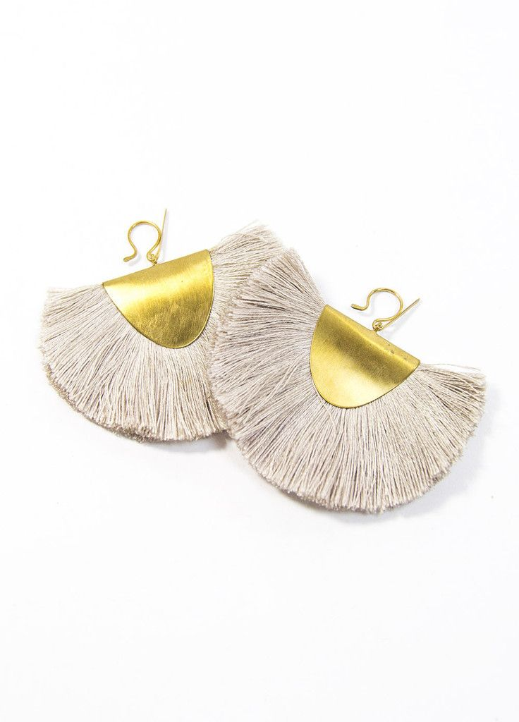 Hazel Cox Arkansas Fan Earrings – BellJar