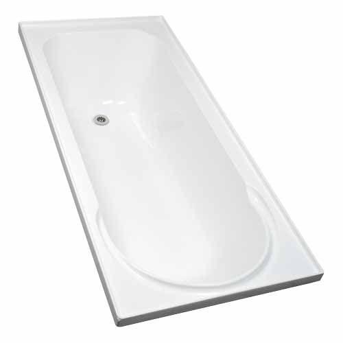 SHOWERMASTER KORU BATH 1650 x 750 x 420mm - Mitre 10 $210
