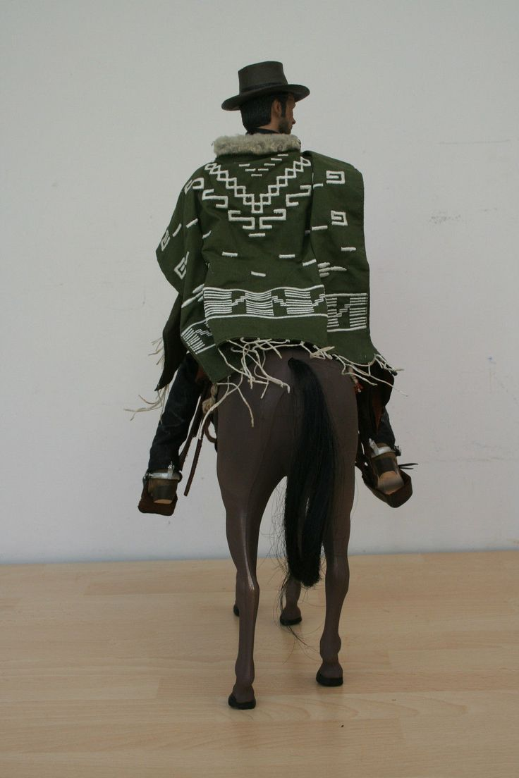 1 6th Custom Western Clint Eastwood Blondie with Horse and Hand Crafted Saddle | eBay