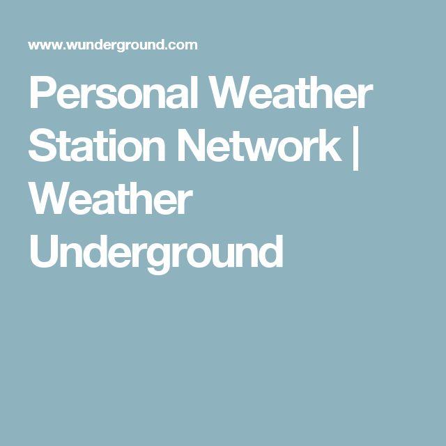 Personal Weather Station Network   Weather Underground