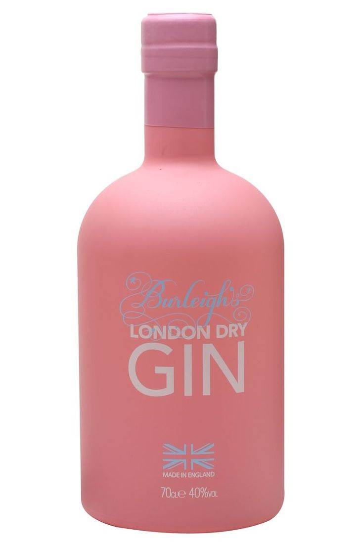 Burleigh's Pink Limited Edition London Dry Gin