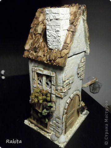 Поделка изделие Моделирование конструирование чайный домик Бумага Материал природный фото 1