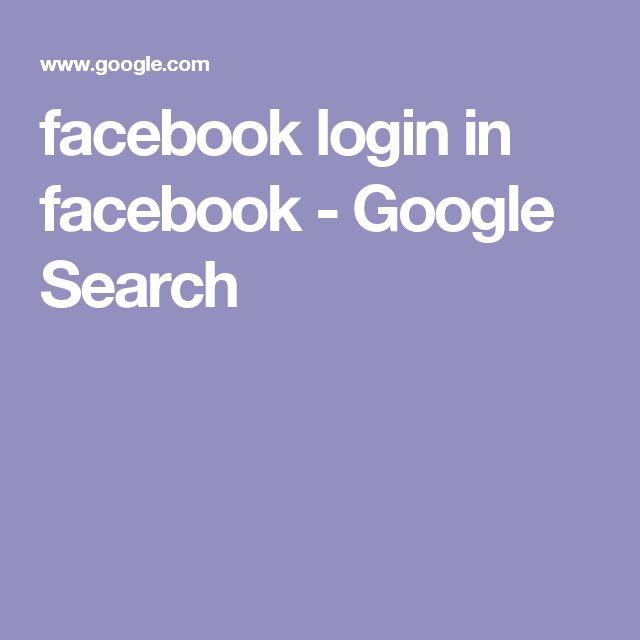facebook login in facebook - Google Search