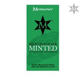 Tableta de Ciocolata Minted #montezumas #ciocolata #menta #dulciuri #cadouri #ideicadouri