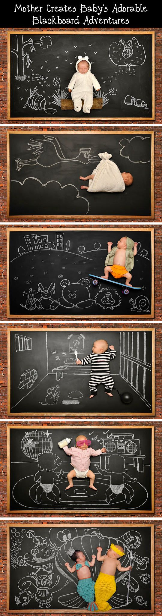 Baby's Blackboard Adventures.