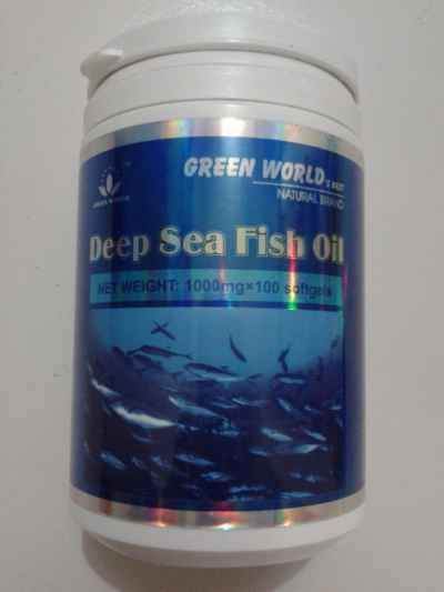 Deep sea fish oil softgel