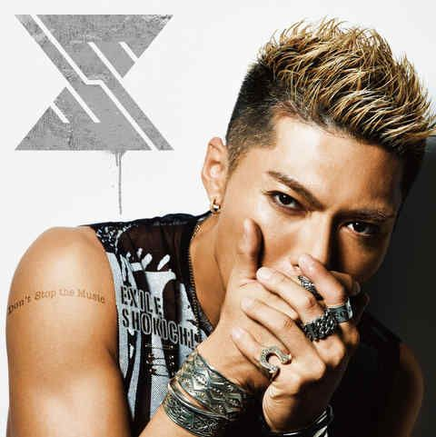 "EXILE SHOKICHI's new single ""Don't Stop the Music"""