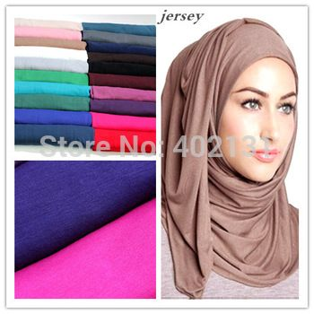 US $34.20 / lot Free Shipping Ladies jersey cotton twilly maxi infinity solid color scarf shawl muslim hijab underscarf 10pcs/lot